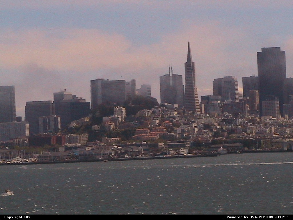 Picture by elki: San Francisco California   alcatraz san francisco