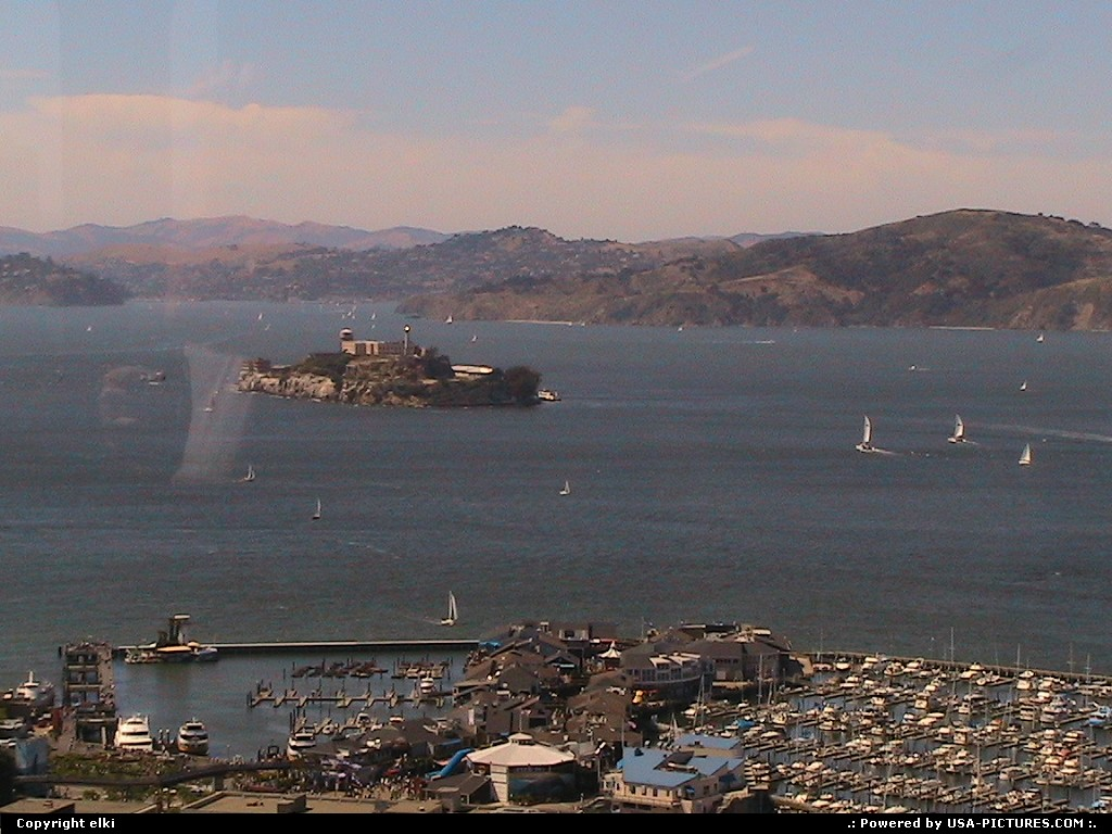 Picture by elki: San Francisco California   San Francisco alcatraz