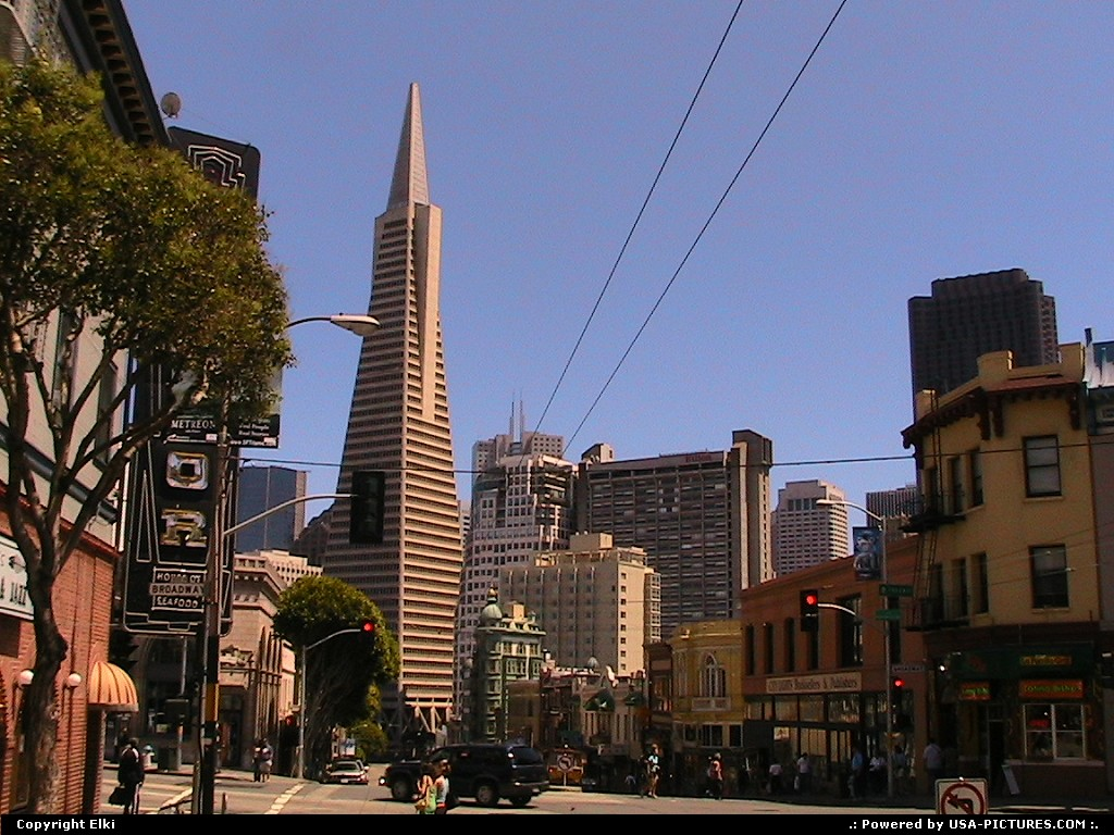 Picture by elki: San Francisco California   downtown