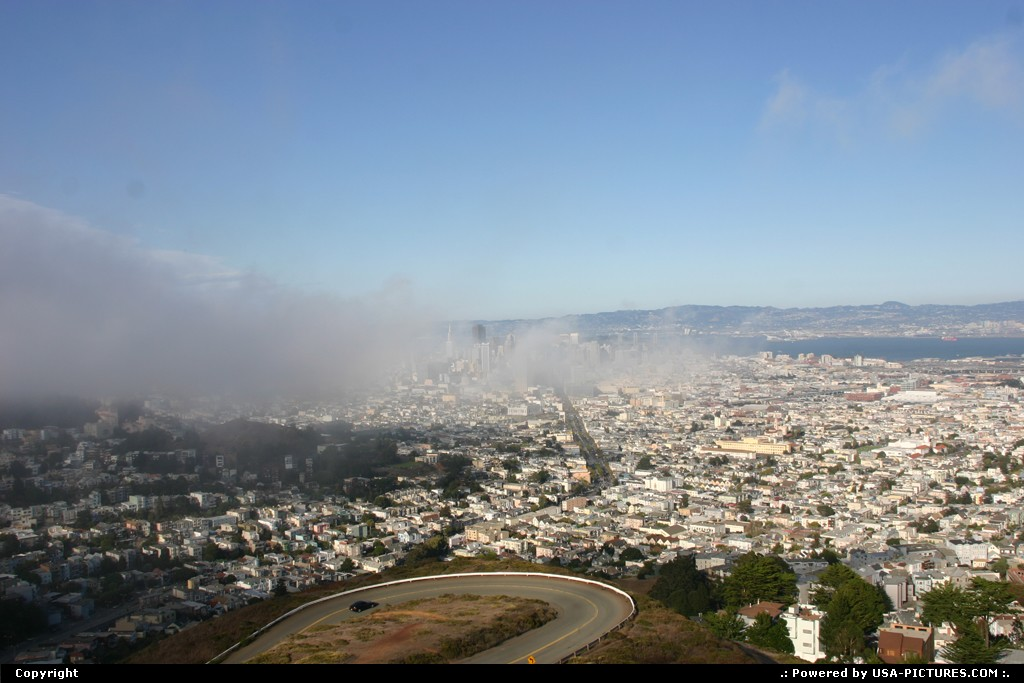 Picture by elki:San FranciscoCaliforniaCity from twin peak