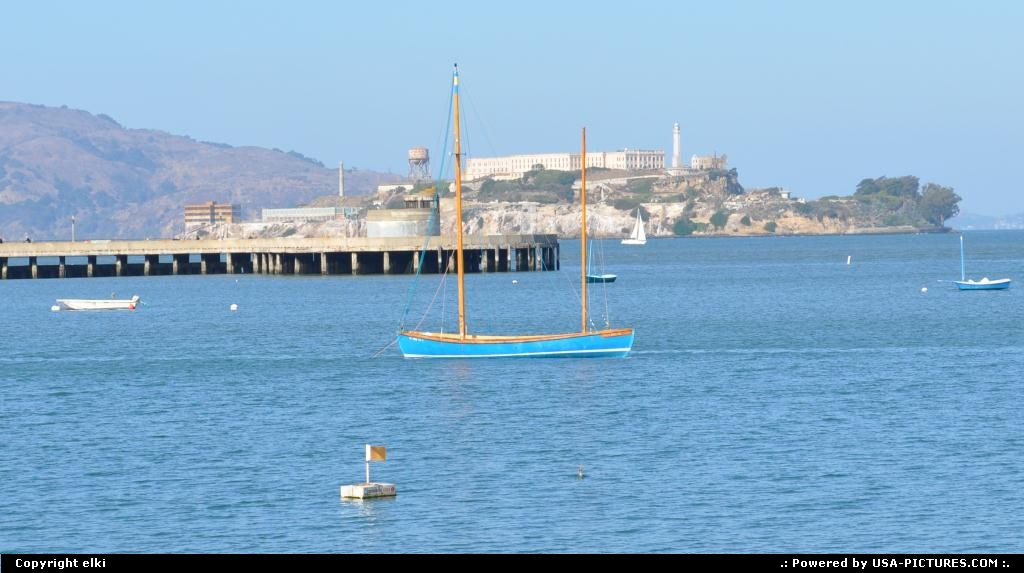 Picture by elki: San Francisco California   alcatraz
