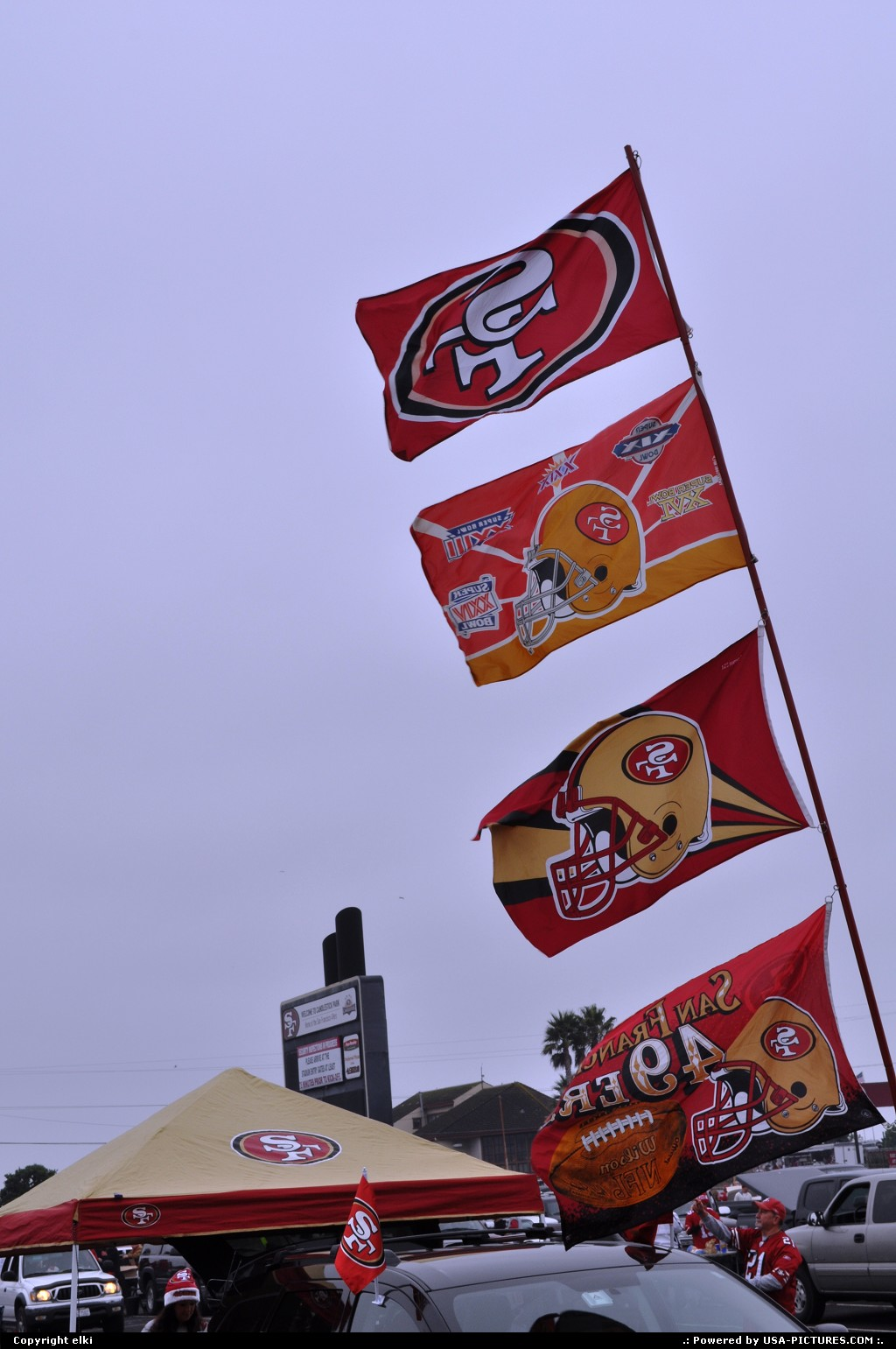 Picture by elki:San FranciscoCaliforniaSan Fancisco, 49 ers, play off