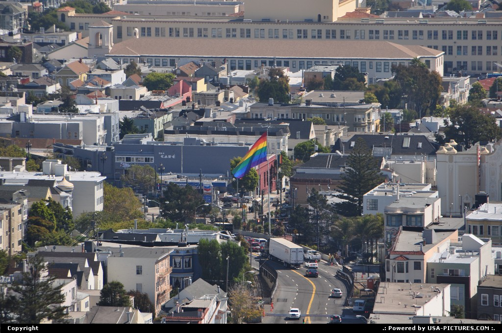 Picture by WestCoastSpirit: San Francisco California   castro, lgbt, market, SF, SFO