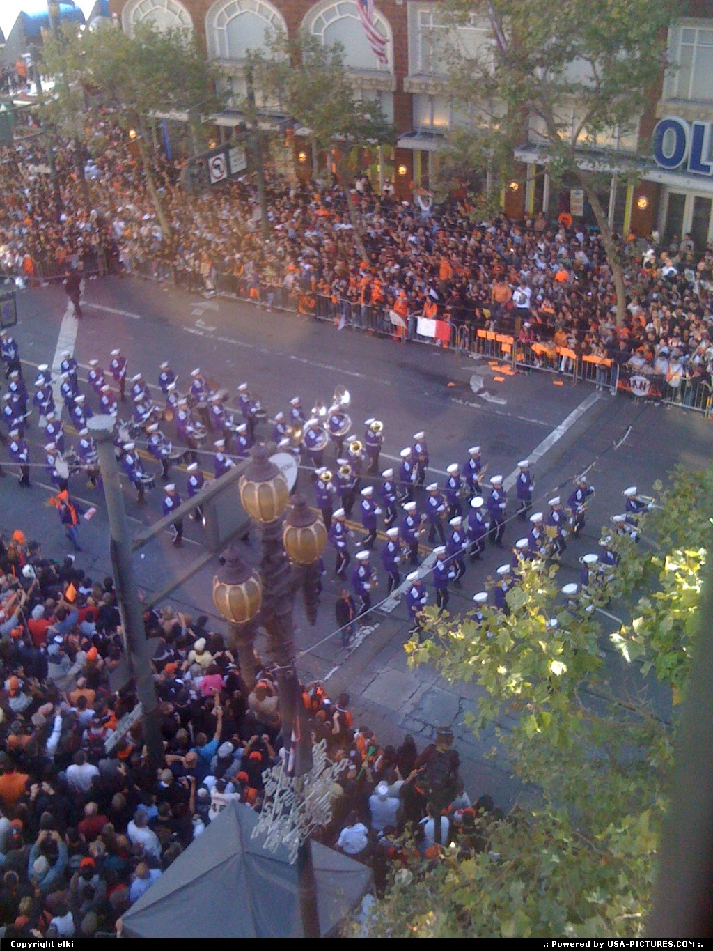 Picture by elki: San Francisco California   giants parade