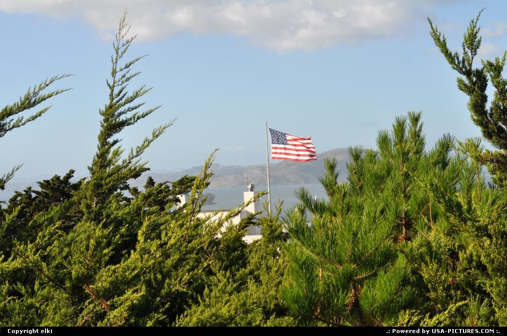 Picture by elki: San Francisco California   us flag