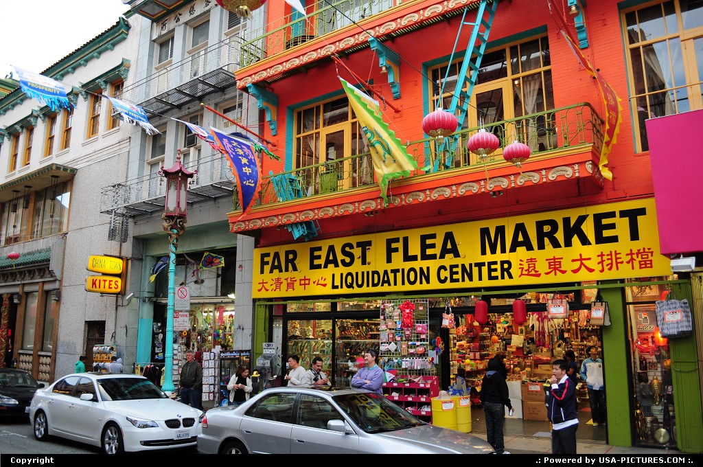 Picture by elki:San FranciscoCaliforniaChinatown San Francisco