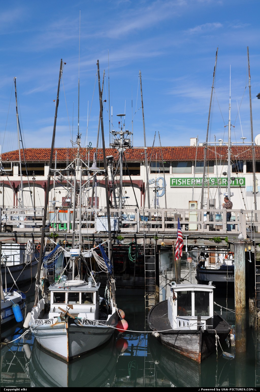 Picture by elki:San FranciscoCaliforniaFisherman wharf