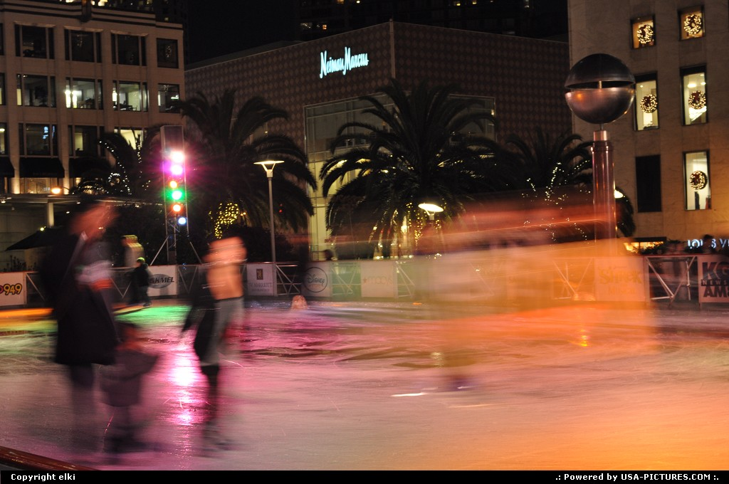 Picture by elki:San FranciscoCaliforniaice rinking san francisco christmas