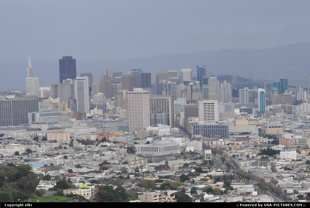 Picture by elki: San Francisco California   twin peaks san francisco california