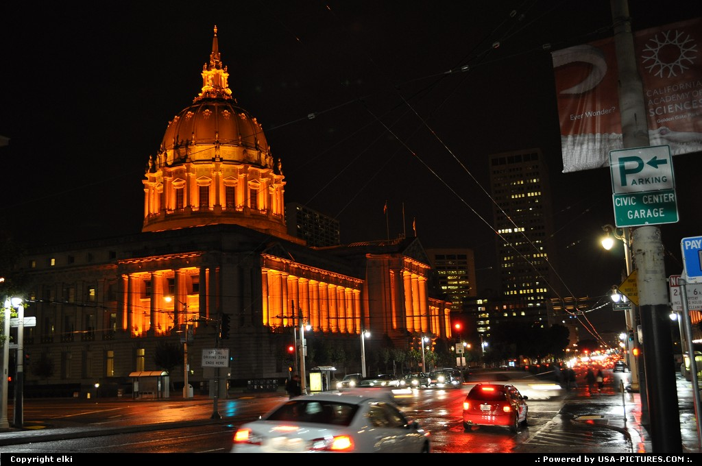 Picture by elki:San FranciscoCaliforniacity hall san francisco