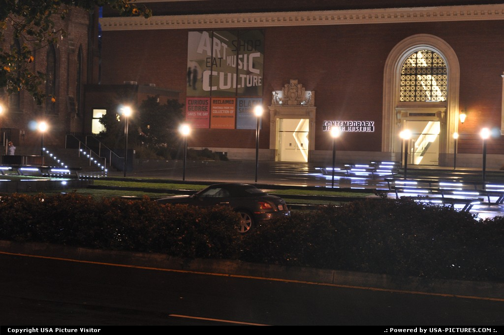Picture by elki:San FranciscoCaliforniaComtemporary Jewish museum at san francisco,