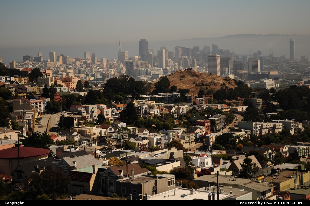 Picture by elki:San FranciscoCaliforniaSan francisco,twinpeaks