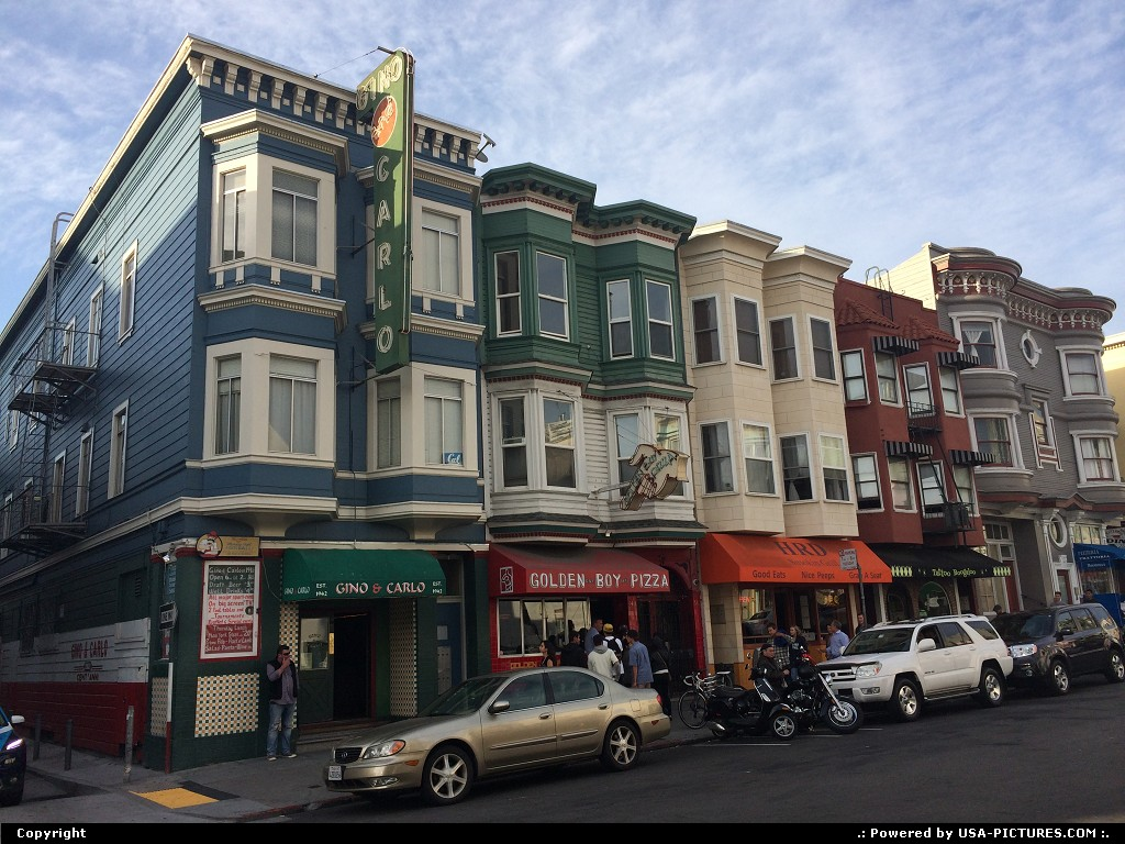 Picture by elki: San Francisco California   North beach San Francisco