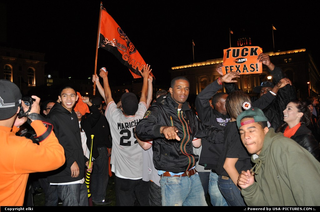 Picture by elki:San FranciscoCaliforniagiants world series 2010