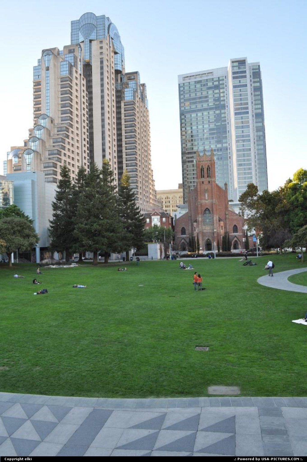 Picture by elki: San Francisco California   yerba buena gardens
