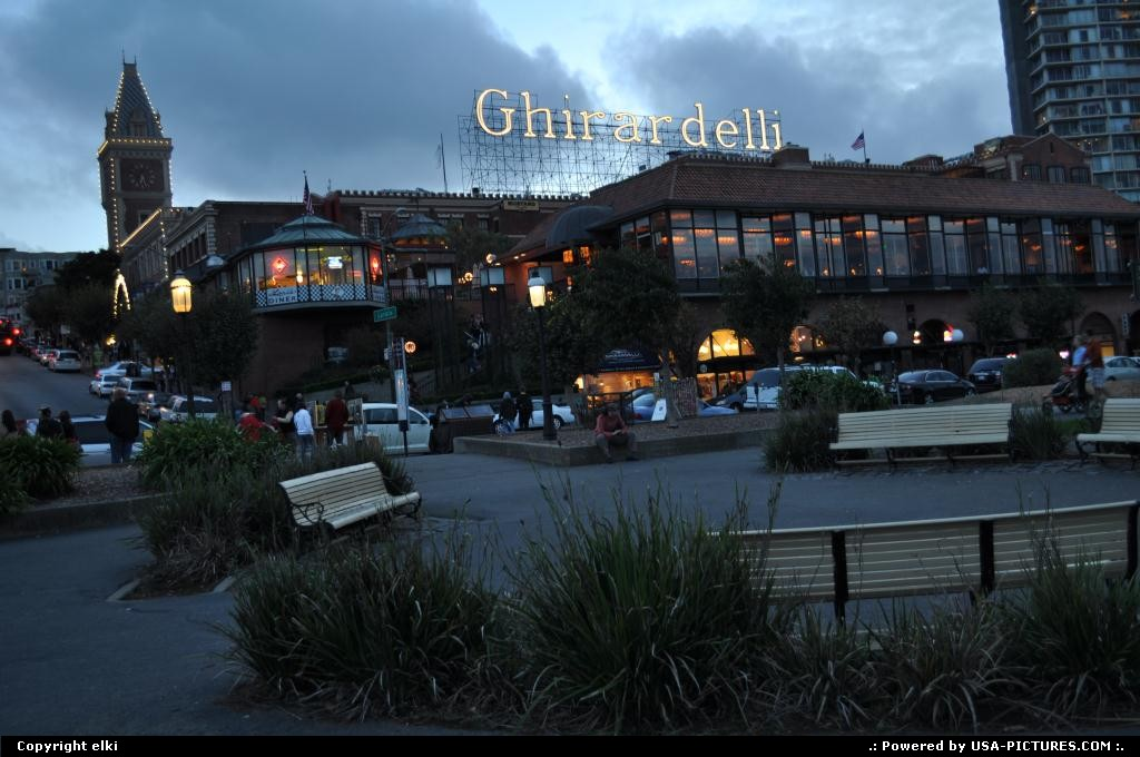 Picture by elki:San FranciscoCaliforniafishermans wharf