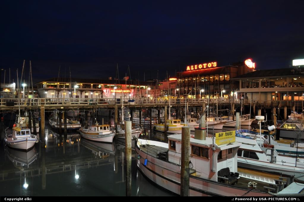 Picture by elki: San Francisco California   fishermans wharf