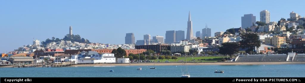 Picture by elki:San FranciscoCaliforniasan francisco city view