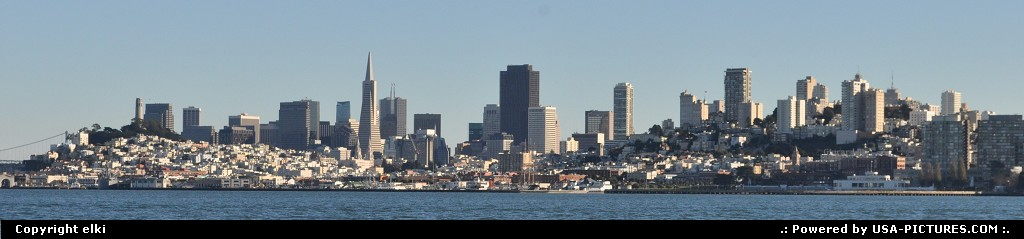 Picture by elki: San Francisco California   san francisco, skyline