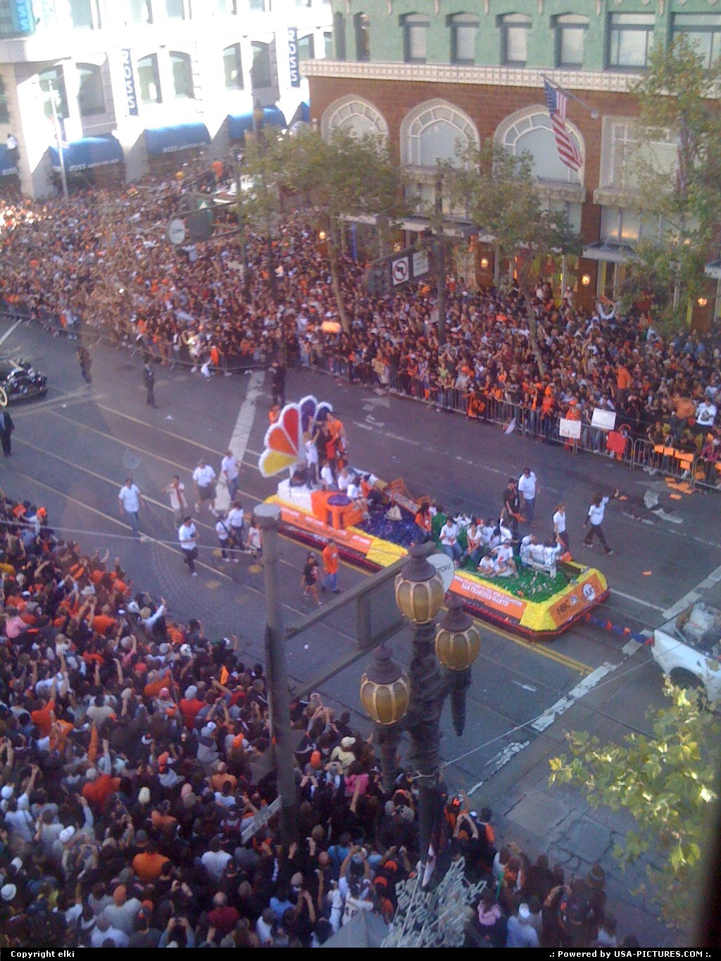 Picture by elki:San FranciscoCaliforniagiants parade