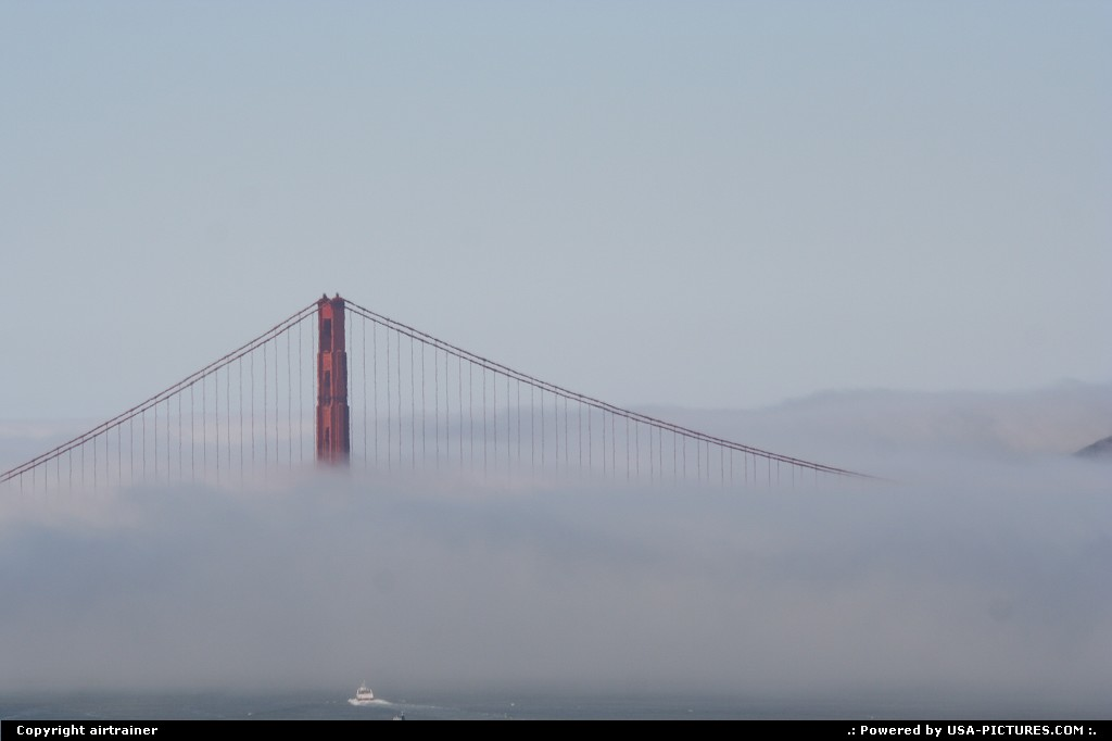 Picture by airtrainer:San FranciscoCaliforniagolden gate