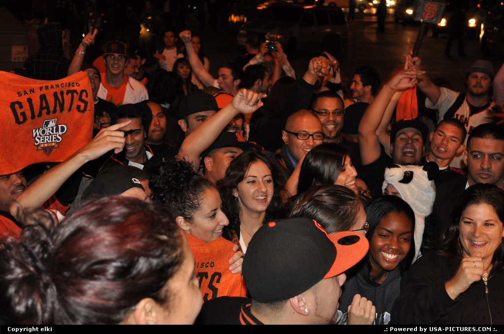 Picture by elki: San Francisco California   giants world series 2010