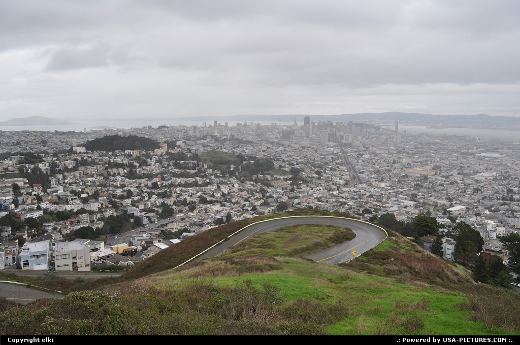 Picture by elki: San Francisco California   twin peaks san francisco