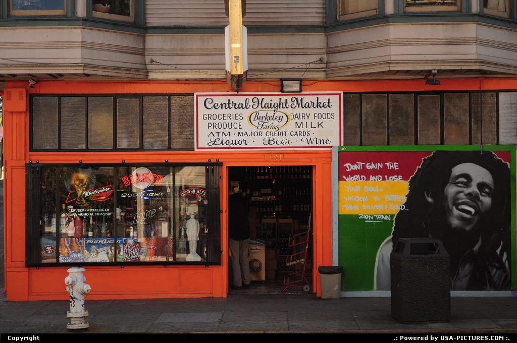 Picture by elki: San Francisco California   haight ashbury san francisco