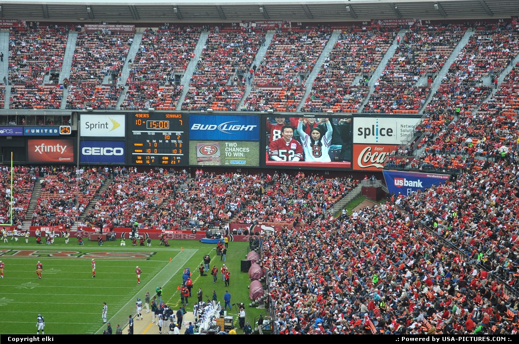 Picture by elki:San FranciscoCalifornia49 ers Seattle Seahawks San Francisco