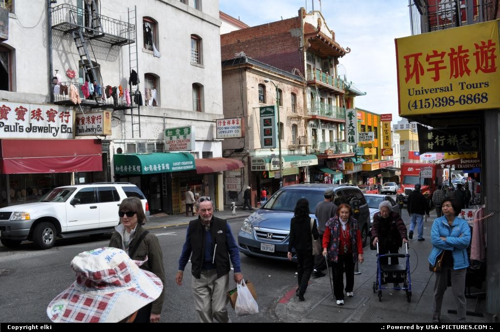 Picture by elki: San Francisco California   san francisco chinatown