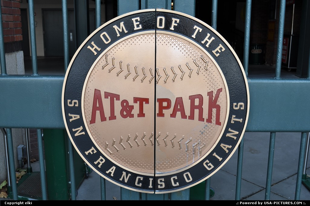 Picture by elki: San Francisco California   at&t, san francisco, giants