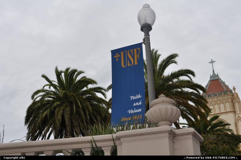 Picture by elki: San Francisco California   San francisco university