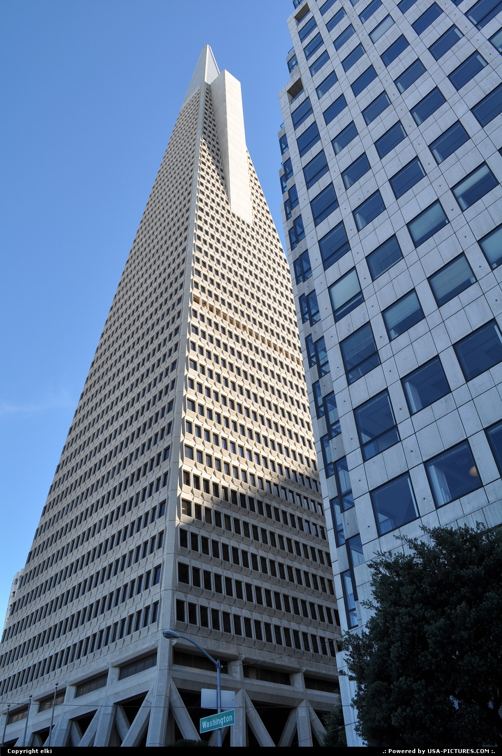 Picture by elki: San Francisco California   san francisco, transamerica pyramid