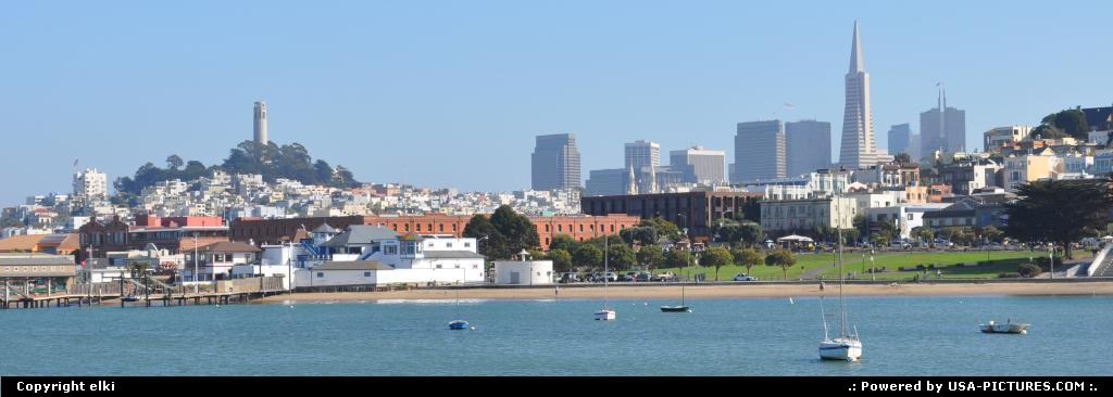 Picture by elki: San Francisco California   san francisco city view
