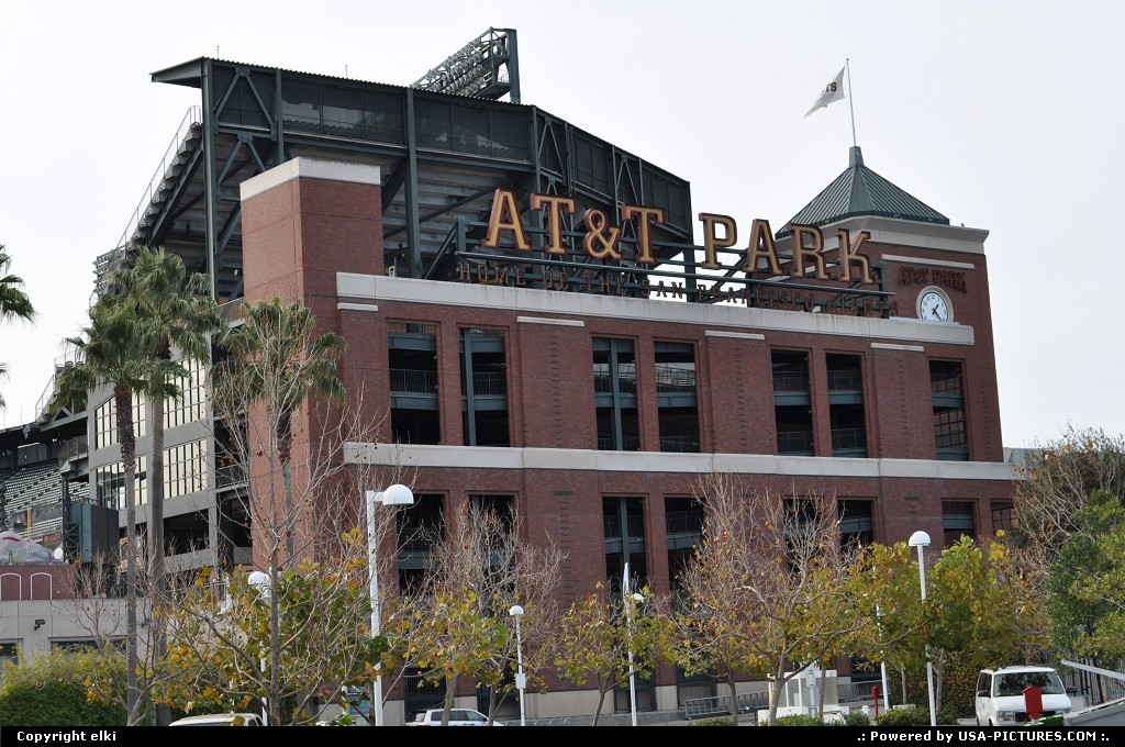Picture by elki: San Francisco California   at&t park, giants, san francisco
