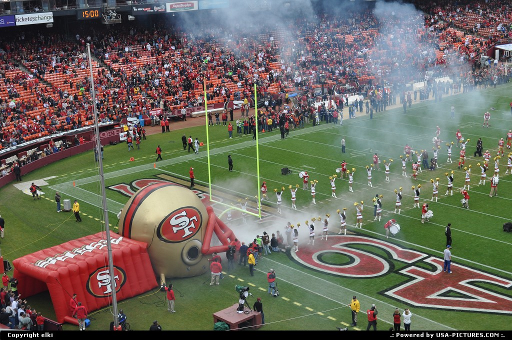 Picture by elki:San FranciscoCalifornia49ers, san francisco