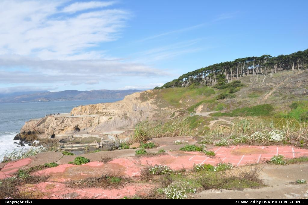 Picture by elki: San Francisco California   coastal trail, san francisco