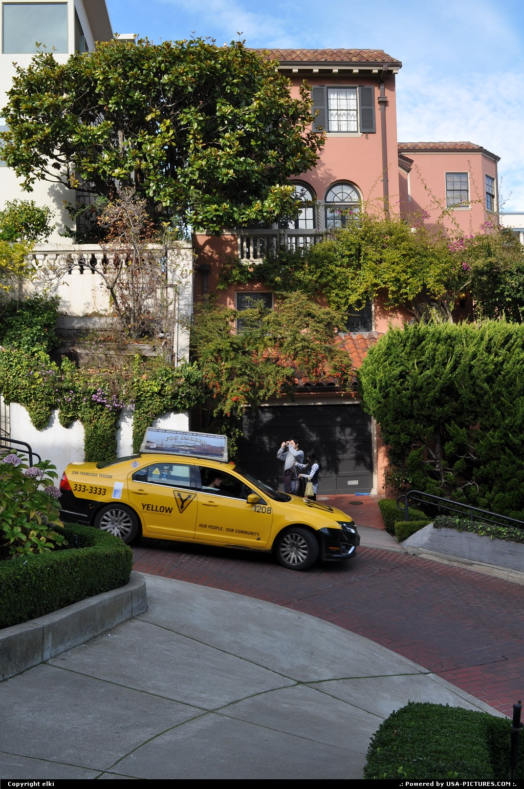 Picture by elki:San FranciscoCalifornialombard street, houses, san francisco