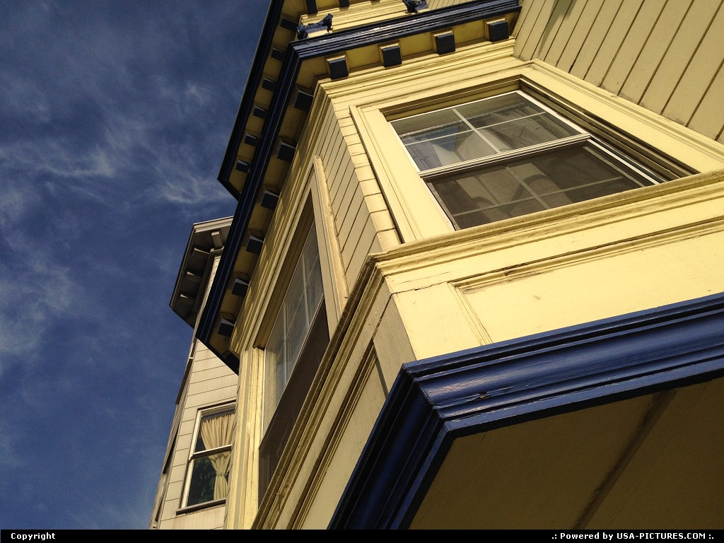 Picture by WestCoastSpirit:San FranciscoCaliforniahouse, painted, Coit tower
