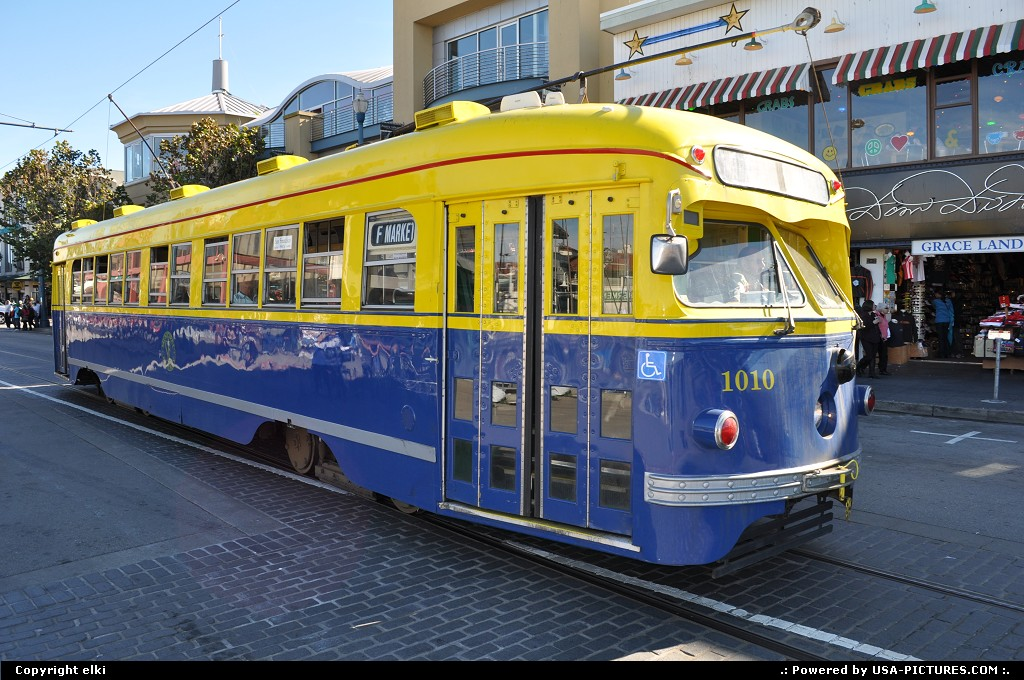 Picture by elki: San Francisco California   street car, san francisco