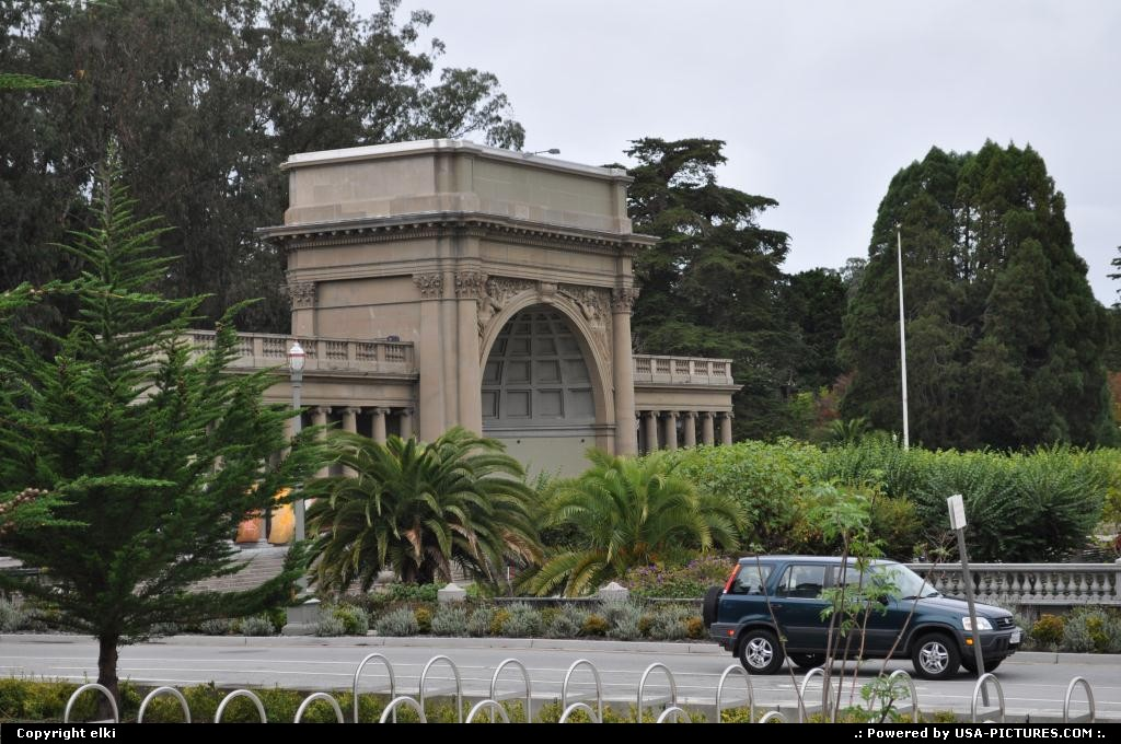 Picture by elki: San Francisco California   golden gate park