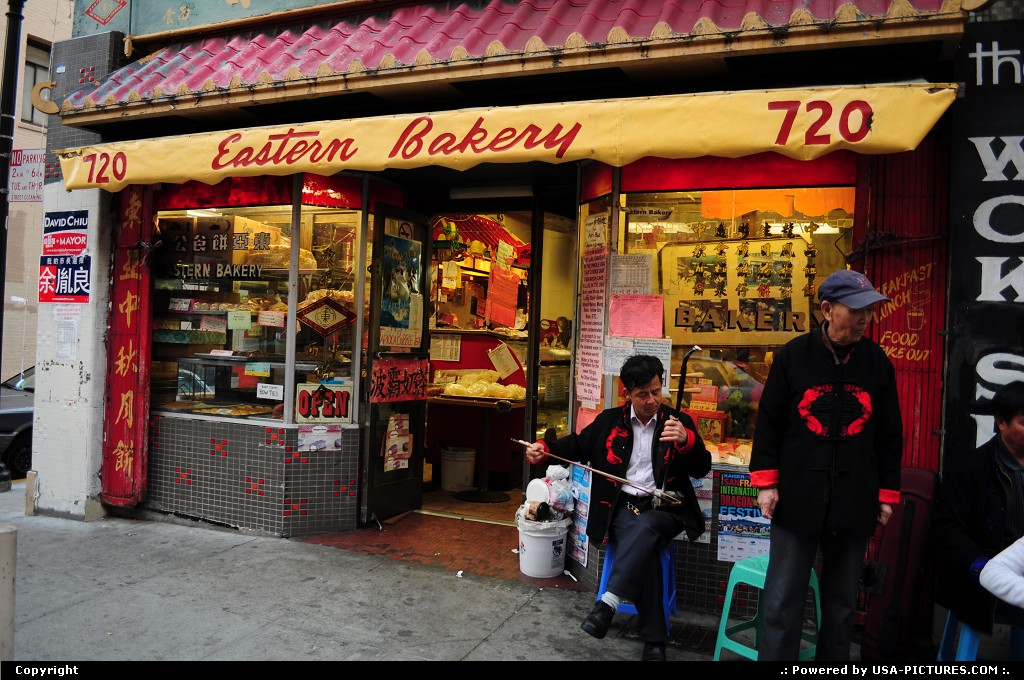 Picture by elki: San Francisco California   Chinatown San Francisco