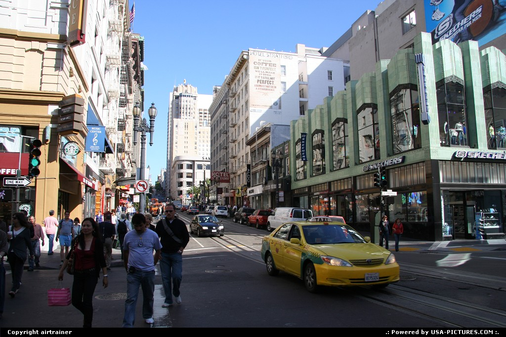 Picture by airtrainer:San FranciscoCaliforniaPowell street