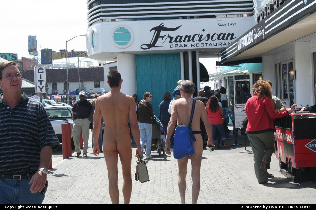 Picture by WestCoastSpirit:San FranciscoCaliforniapier 39, fishermans wharf, nudity