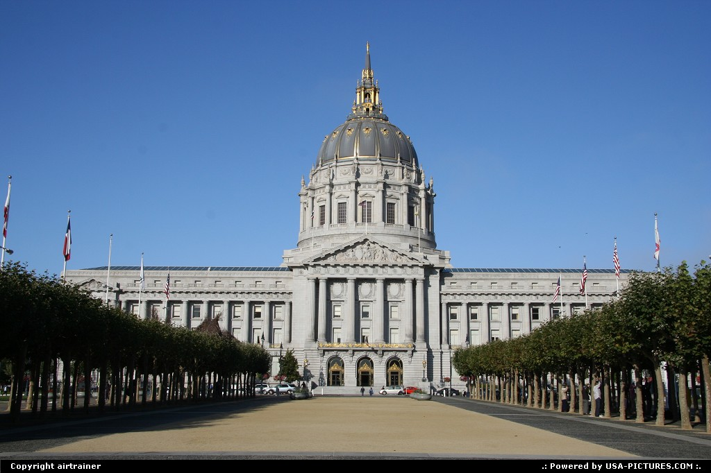 Picture by airtrainer: San Francisco California   city hall, san francisco