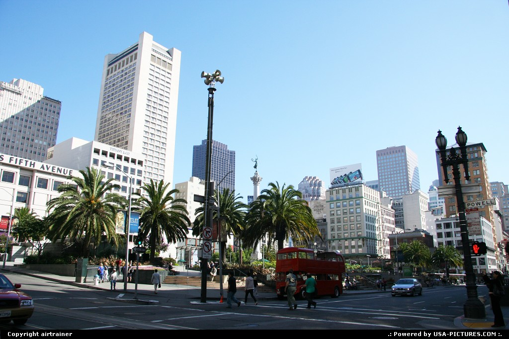 Picture by airtrainer: San Francisco California   union square