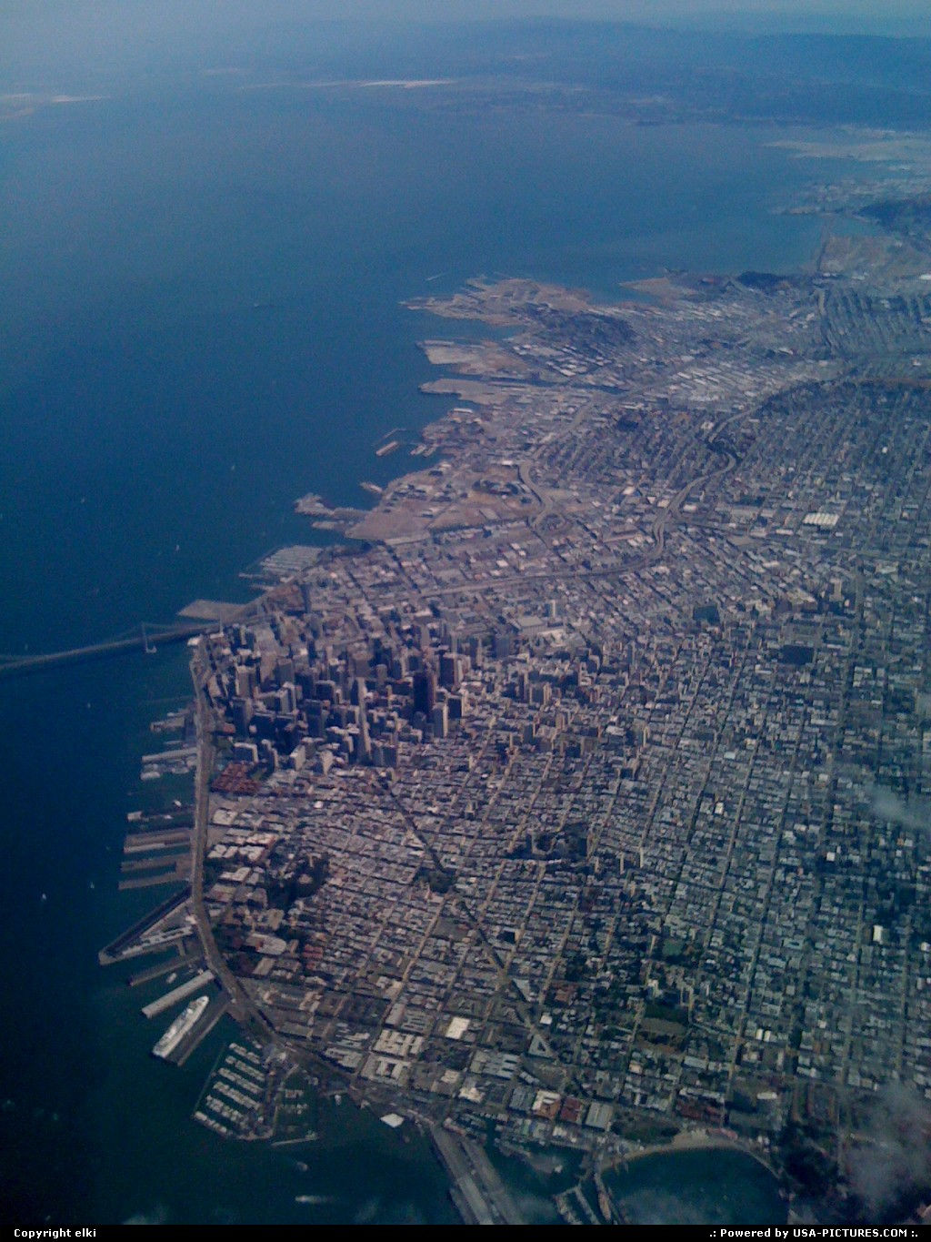 Picture by elki: San Francisco California   san francisco from sky