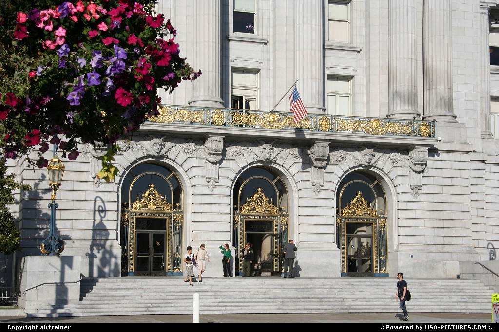 Picture by airtrainer:San FranciscoCaliforniacity hall, san francisco