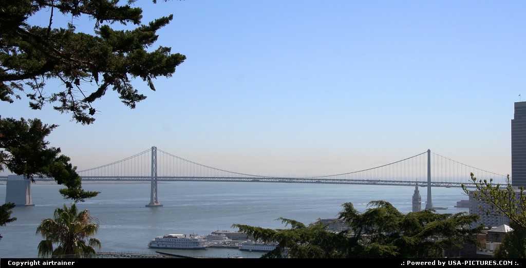 Picture by airtrainer: San Francisco California   bay bridge