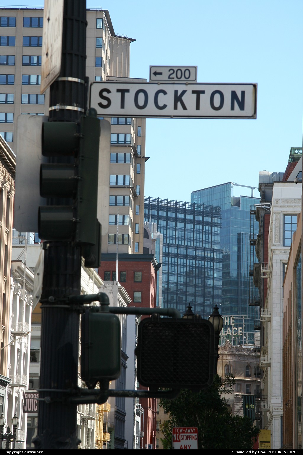 Picture by airtrainer:San FranciscoCaliforniastockton street